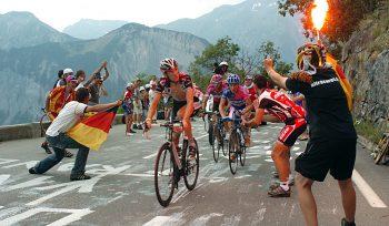 Fans bei Radsport