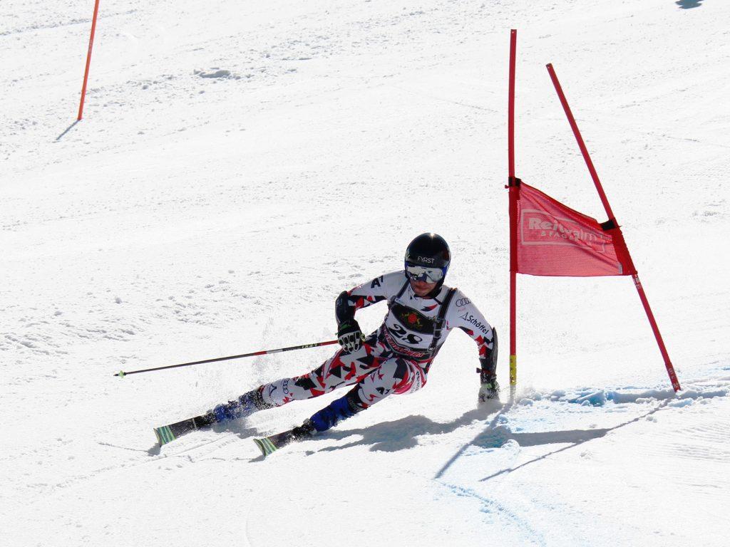 Berny Schober Skifahren