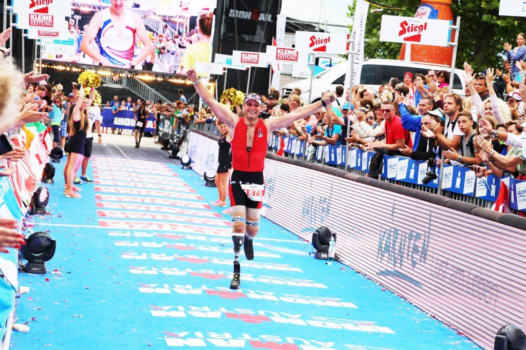 Erich Artner Ironman Finisher